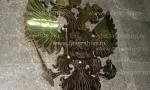 герб России из металла